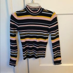 Guess Striped Turtleneck